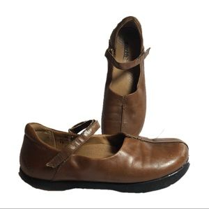 Earth Leather Solar Brown Kalso Shoes